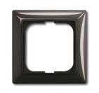 Установочная рамка 1 пост. черный, ABB Basic 55 (1725-0-1506)