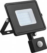 Прожектор LED, 20W, 6400K, IP44, LL-906, с датчиком движения - Feron