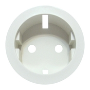 Legrand Celiane Розетка электрическая с заземлением с защитными шторками (белый)
