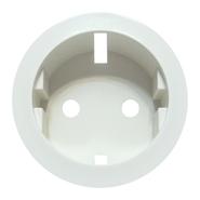 Legrand Celiane Розетка электрическая с заземлением с защитными шторками, безвинтовые зажимы (белый)