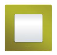 Рамка 1 пост зеленый папоротник Legrand Etika 672541