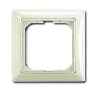 Установочная рамка 1 пост. белый, ABB Basic 55 (1725-0-1511)