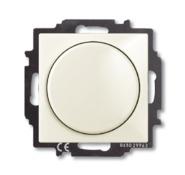 Светорегулятор поворотно-нажимной 60-400 Вт, бежевый, ABB Basic 55 (6515-0-0843)