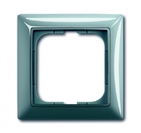 Установочная рамка 1 пост. голубой, ABB Basic 55 (1725-0-1521)
