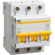 8A D 4.5kA 3P. Выключатель автоматический трехполюсный ВА47-29 IEK (MVA20-3-008-D)