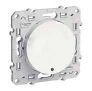Переключатель одноклавишный с LED подсветкой Schneider Electric Odace белый (S52R263/S52R291)