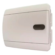 Tekfor бокс 6 модулей встраиваемый IP40 непрозрачная белая дверца нажимной, 182х150х103