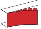 Крышка гибкая 130мм Legrand DLP