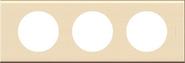 Legrand Celiane Трехместная рамка (дерево клен)