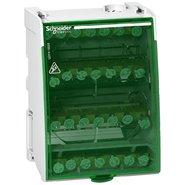 Блок распределительный винтовой (кросс-модуль) 4П 100А 28 отверстий Linergy Schneider Electric