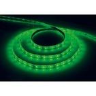 Лента светодиодная (LEDх60/м 5м) 4.8w/m 12в IP65 зеленый FERON (27675)
