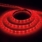 Лента светодиодная (LEDх60/м 5м) 4.8w/m 12в красный FERON (27672)