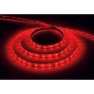 Лента светодиодная (LEDх60/м 5м) 4.8w/m 12в IP65 красный FERON (27676)