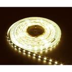 Лента светодиодная (LEDх60/м 5м) 14.4w/m 12в тепло-белый/на белом основании FERON (27646)