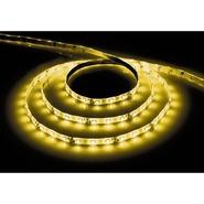 Лента светодиодная (LEDх60/м 1м) 4.8w/m 12в IP65 желтый FERON (27748)