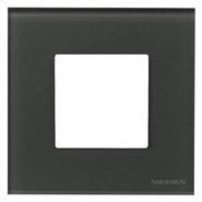 Рамка 1 пост - графит, Zenit ABB (N2271 CF)