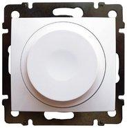 Светорегулятор поворотный универсальный 5-300 Вт - белый, Legrand Valena