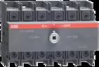 Реверсивный рубильник 125А, 3-полюсный для установки на DIN-рейку или монтажную плату (без ручки), ABB OT125F3C