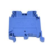 Клемма на DIN-рейку ЗНИ-6 мм.кв. синий