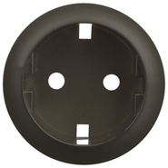 Legrand Celiane Розетка электрическая с заземлением с защитными шторками (графит)