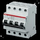 Выключатель автоматический четырехполюсный C6A SH204L 4.5кА ABB