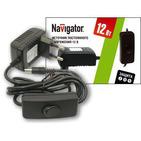 Трансформатор (драйвер) светодиодный LED 12w 12v Navigator (71462 ND-E)