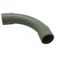LUXEL уголок 90гр для трубы  d32мм